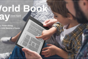 Today is World Book Day 2019, which is a day to celebrate everything about books! Help your child become a reader early.