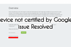 "How to Fix the ""Device is not Certified by Google"" on ONYX BOOX"