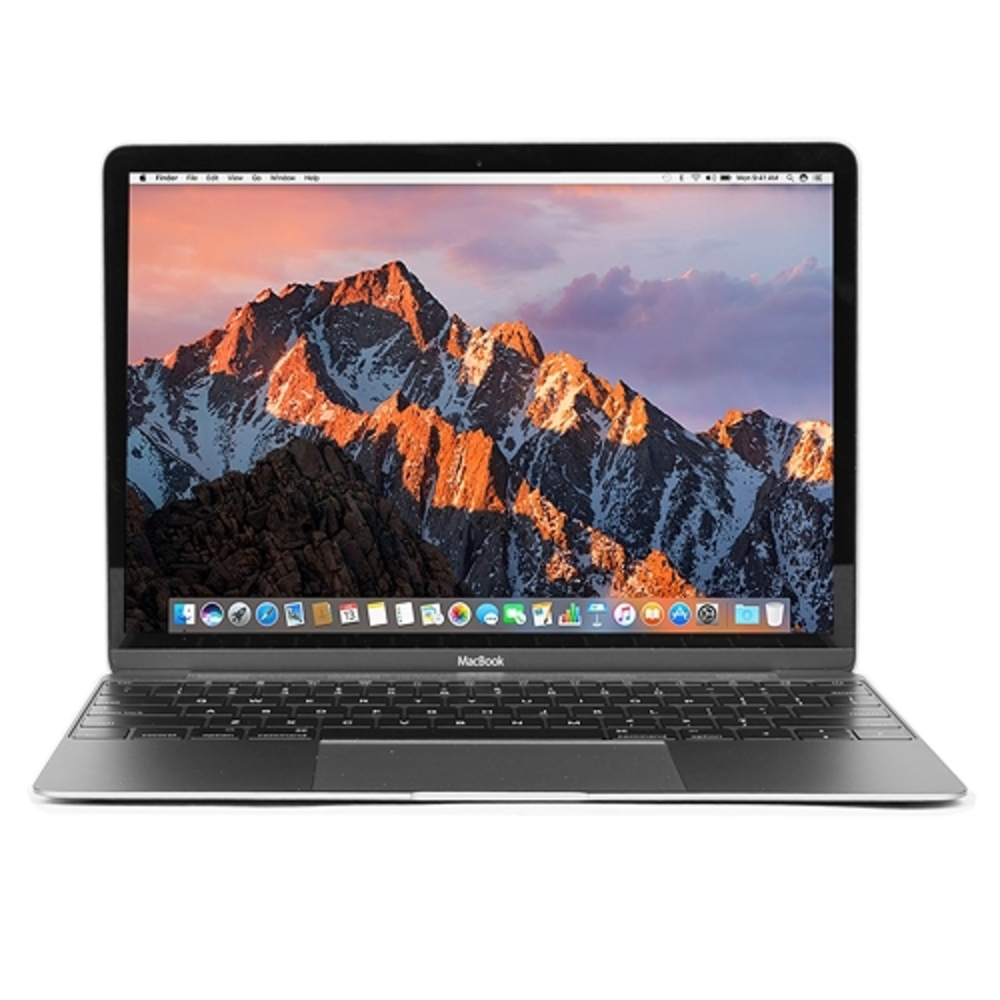 """Apple MacBook Retina Core M-5Y31 Dual-Core 1.1GHz 8GB 256GB SSD 12"""" Notebook (Silver) (Early 2015)"""