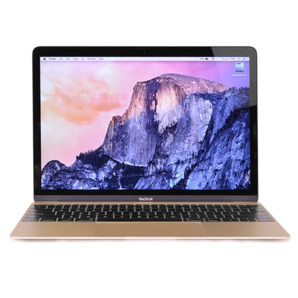 "Apple MacBook Retina Core M-5Y71 Dual-Core 1.3GHz 8GB 256GB SSD 12"" Notebook (Gold) (Early 2015)"