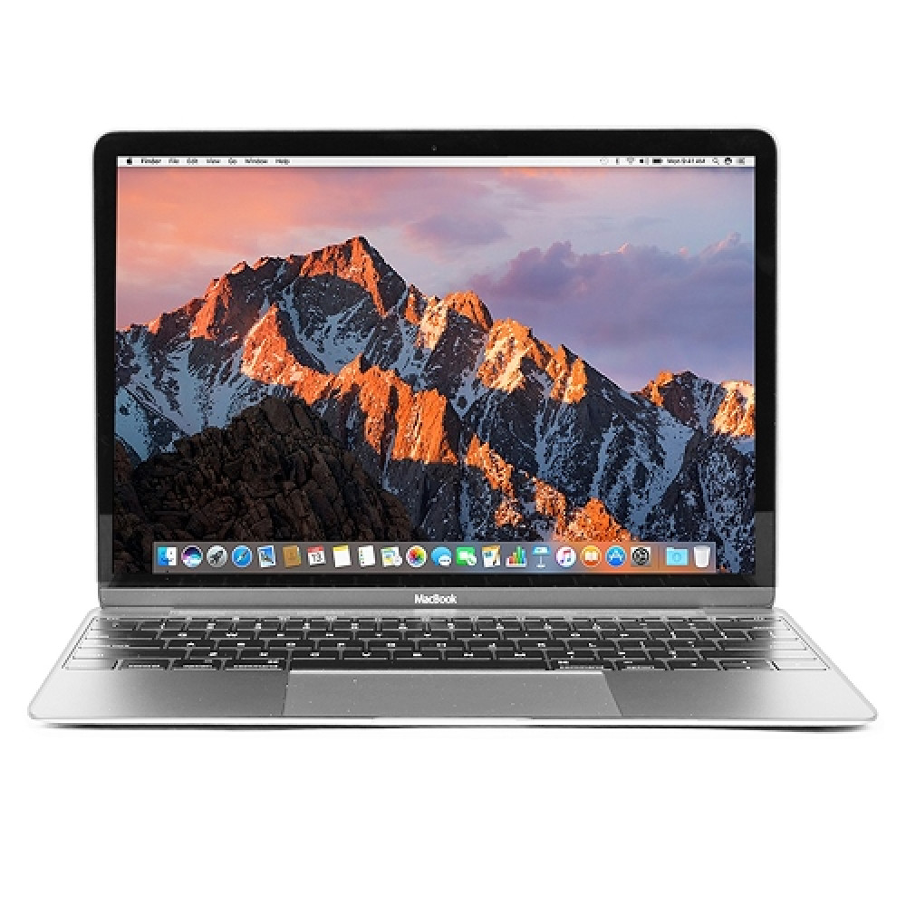 "Apple MacBook Retina Core M-5Y31 Dual-Core 1.1GHz 8GB 256GB SSD 12"" Notebook  Silver   Early 2015"