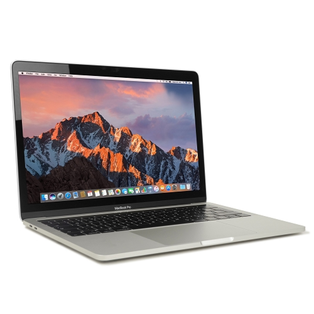 "Apple MacBook Pro Retina Core i5-8259U Quad-Core 2.3GHz 8GB 240GB SSD 13.3"" Notebook  Silver   Mid 2018"