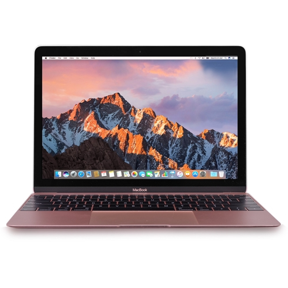 "Apple MacBook Retina Core M3-7Y32 Dual-Core 1.2GHz 8GB 256GB SSD 12"" Notebook  Rose Gold   Mid 2017"