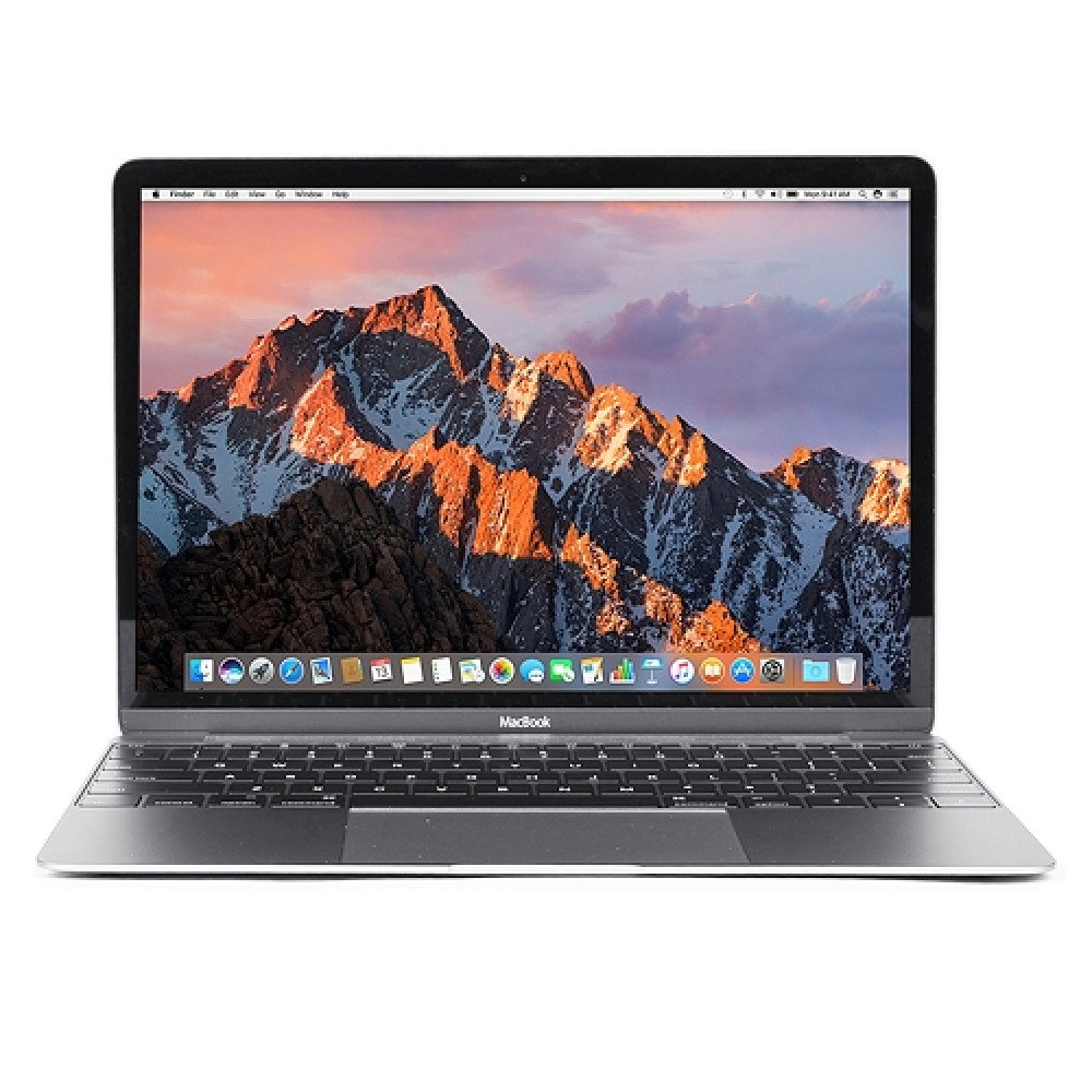 "Apple MacBook Retina Core M3-7Y32 Dual-Core 1.2GHz 8GB 240GB SSD 12"" Notebook  Space Gray   Mid 2017"