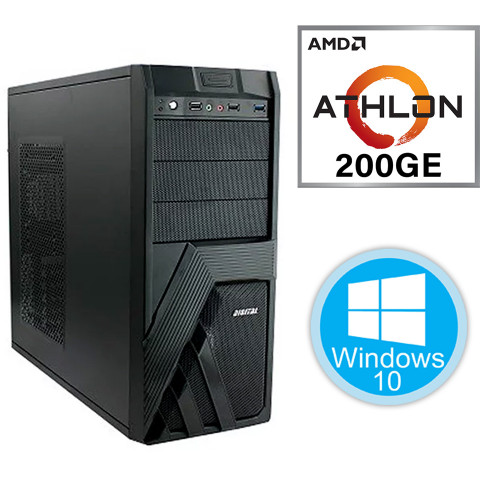 Desktop PC - i3-8100\4GB\240GB