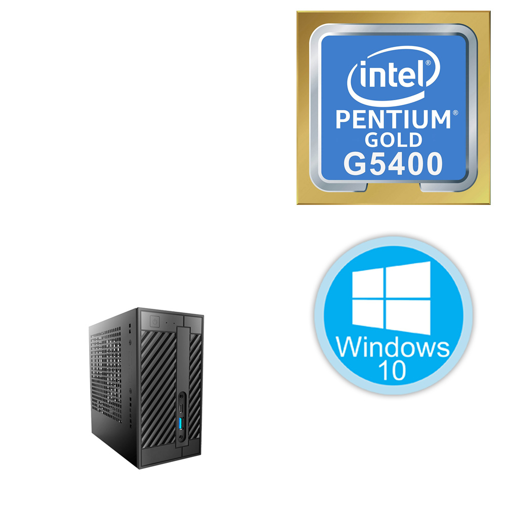 Desktop PC Mini - G5400\4GB\256GB
