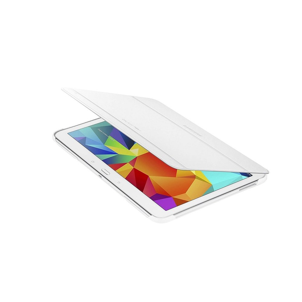 Samsung Book Cover For Galaxy Tab 4 10.1 White EF-BT530BWEGUJ