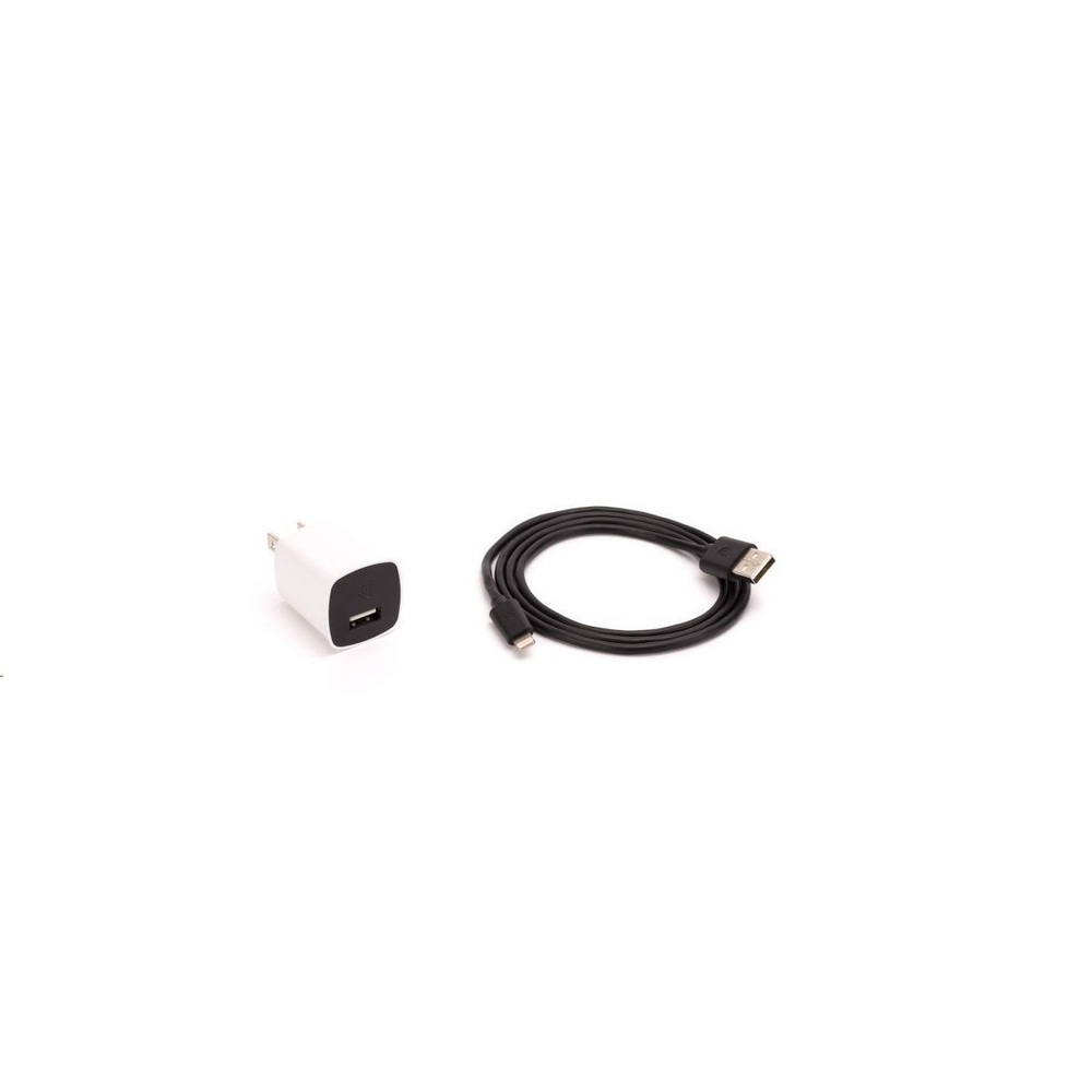 Griffin 12W Powerblock With Lightning Cable Black/White NA39965-2