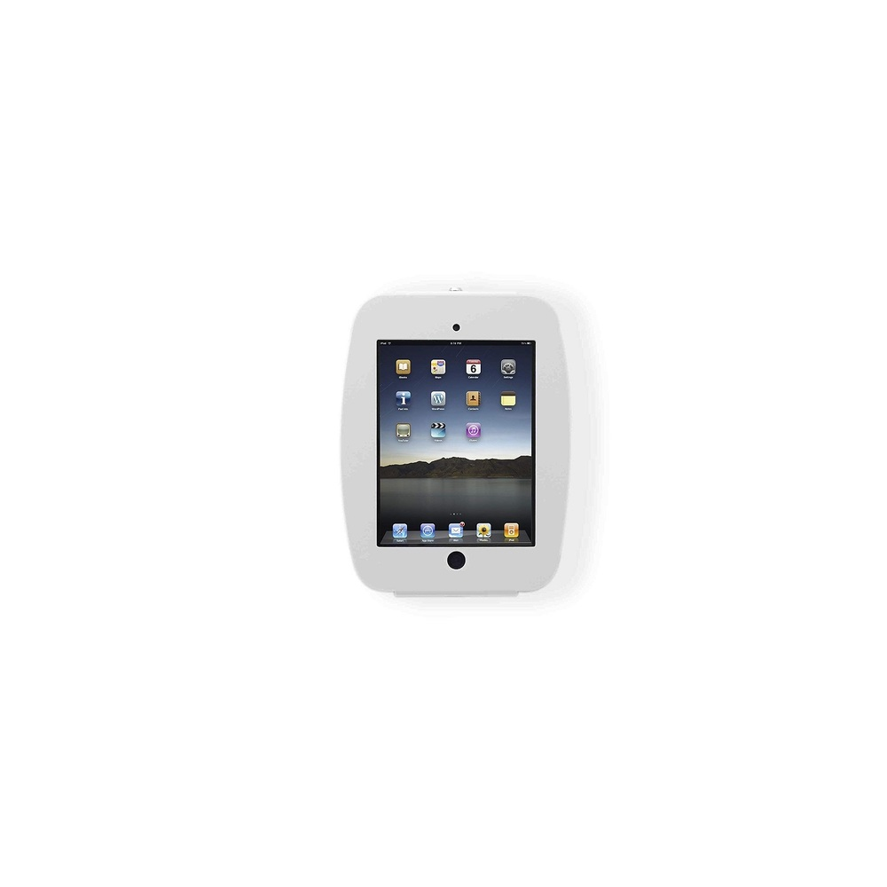 Maclocks Space Ipad Enclosure Wall Mount For iPad/iPad Pro 9.7 White 224SENW