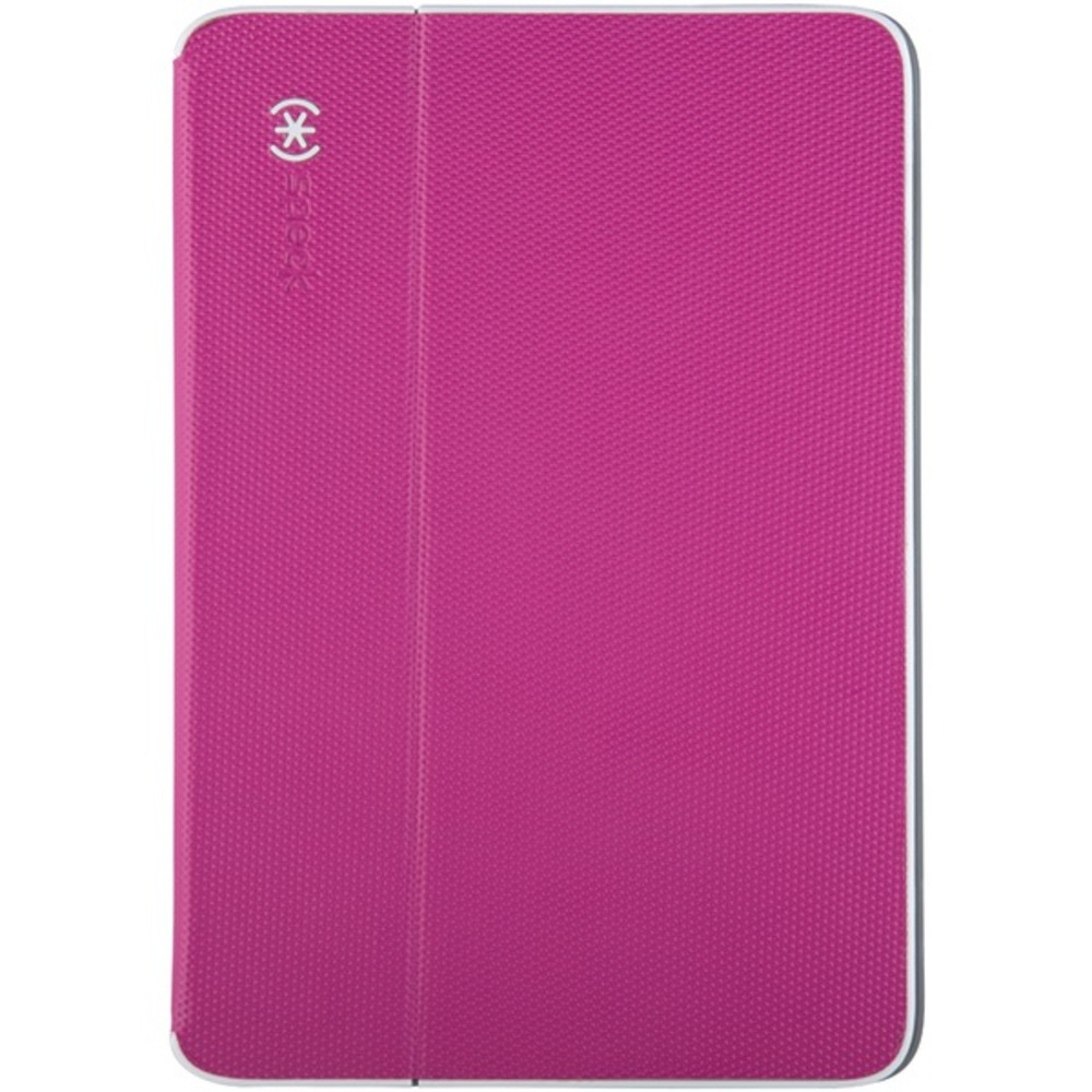 Speck(R) 71943-C019 DuraFolio Case for iPad Air(R) 2 (Fuchsia Pink/White/Slate Gray)