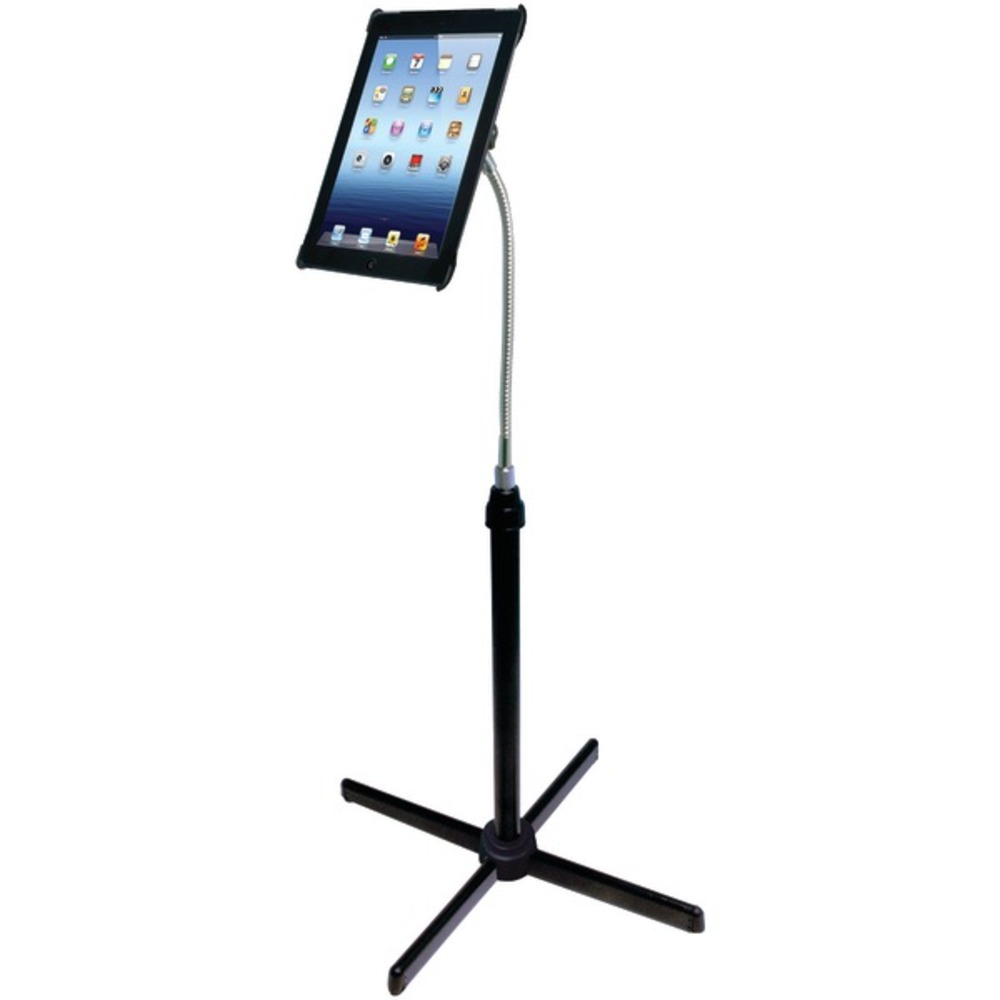 CTA Digital PAD-AFS Height-Adjustable Gooseneck Floor Stand for 7-13 Tablets