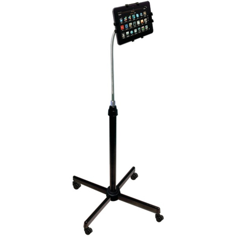 CTA Digital PAD-UAFS Height-Adjustable Gooseneck Stand with Casters for iPad(R)/Tablet