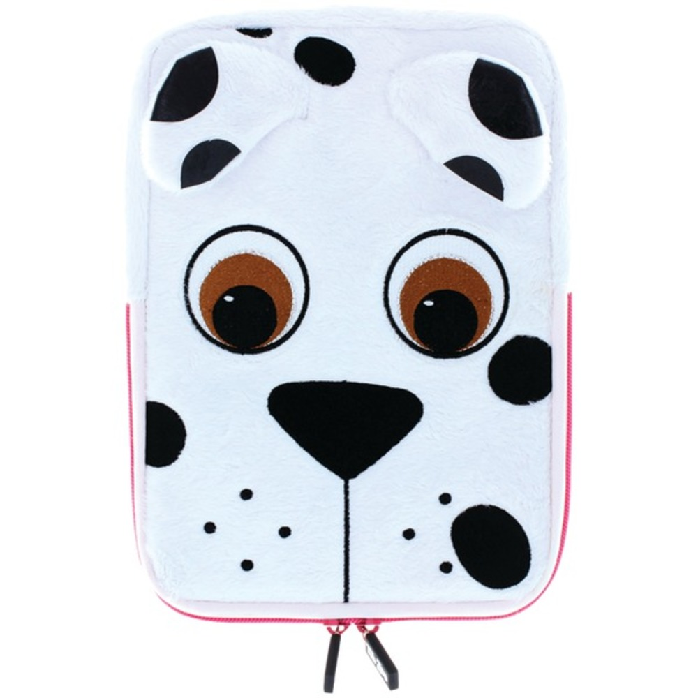 TabZoo TZ431PD 8 Plush Universal Dog Tablet Sleeve