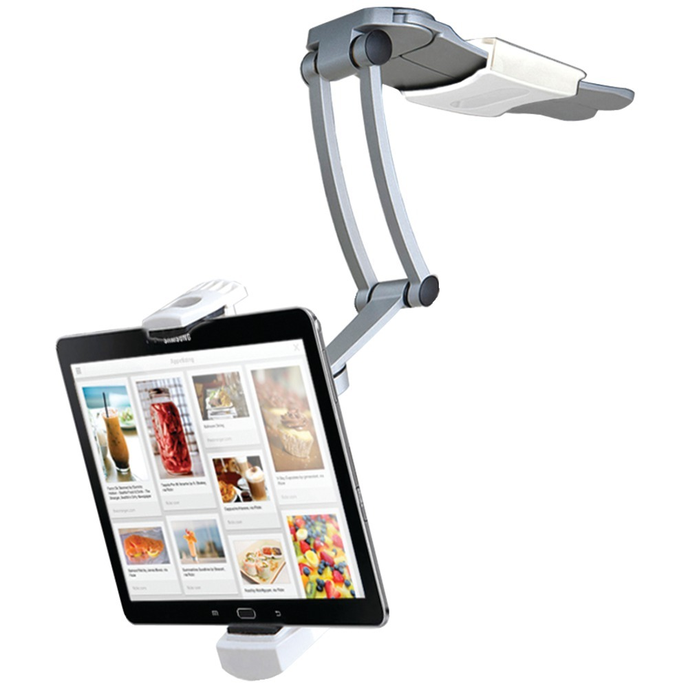"Cta Digital Ipad Air And Ipad Mini And Surface Pro 4 & 7""-12"" Tablets 2-in-1 Kitchen Mount Stand CTAKMS"