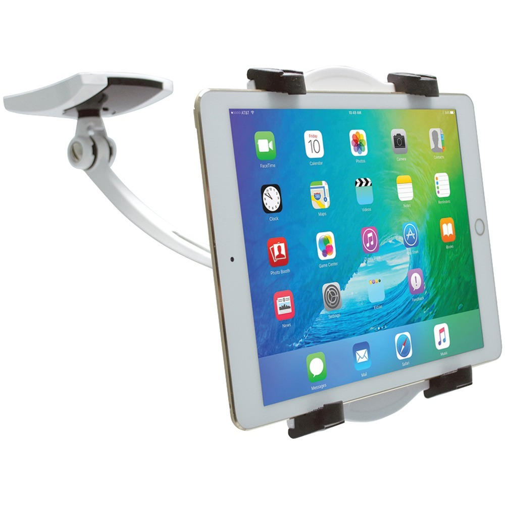 Cta Digital Ipad And Tablet Wall, Under-cabinet & Desk Mount With 2 Mounting Bases CTAPADWDM