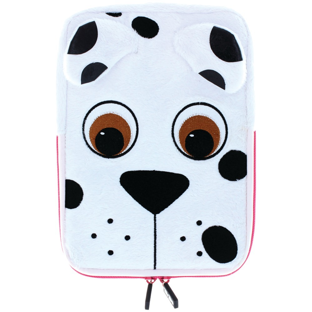 "Tabzoo 8"" Plush Universal Dog Tablet Sleeve JENTZ431PD"