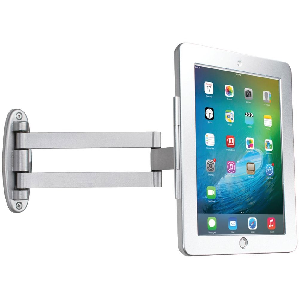 "Cta Digital Ipad Air And Ipad Air 2 And Ipad Pro 9.7"" And Ipad With Retina Display And Ipad 3rd Gen And Ipad 2 Articulating Wall-mounting Security Enclosure CTAPADAWSEA"