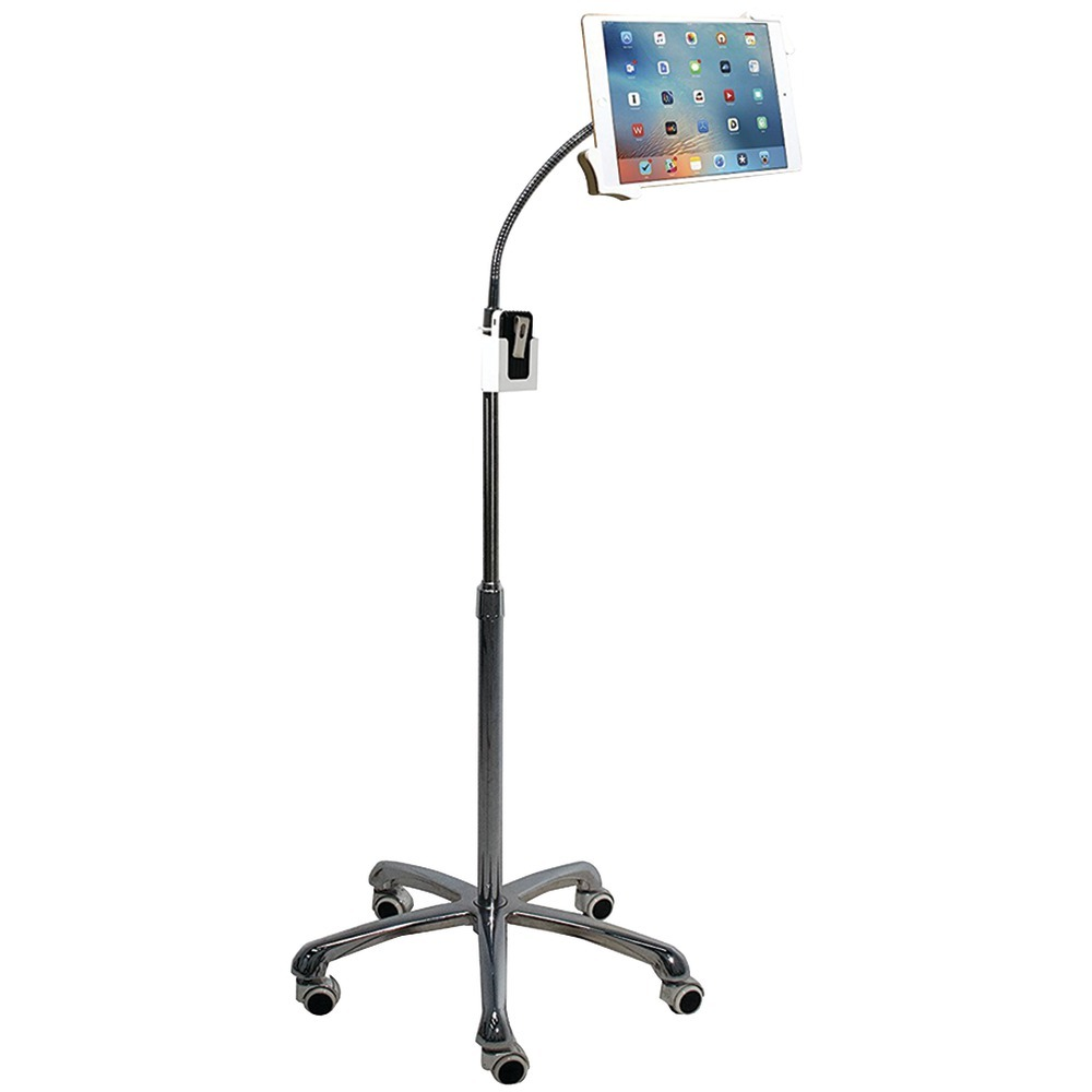 Cta Digital Ipad And Tablet Heavy-duty Gooseneck Floor Stand CTAPADHFS