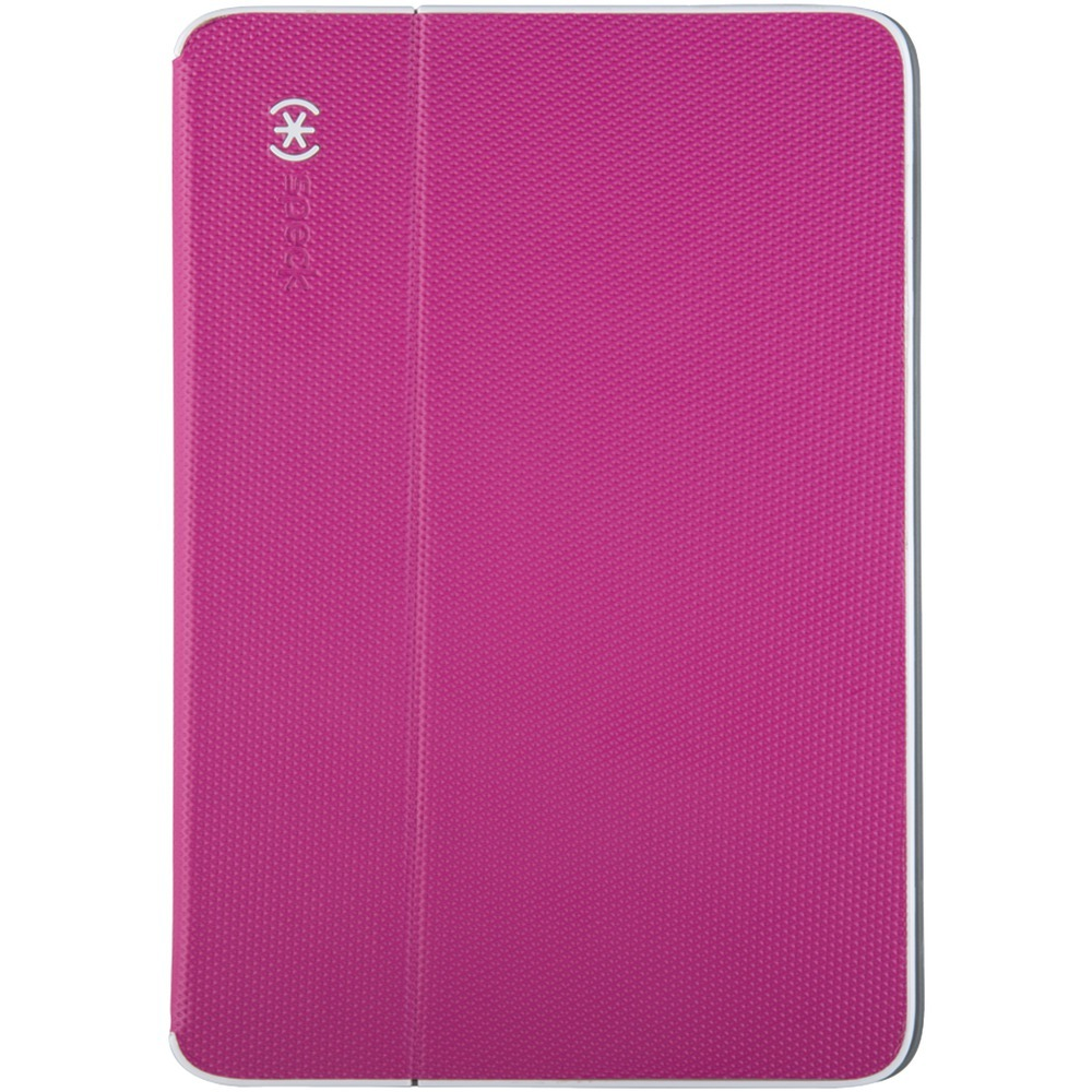 Speck Durafolio Case For Ipad Air 2 (fuchsia Pink And White And Slate Gray) SKK71943C019