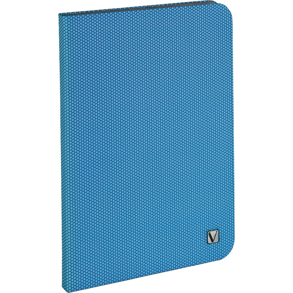 Verbatim 023942981008 98100 Folio Hex Case for iPad Mini - Aqua Blue