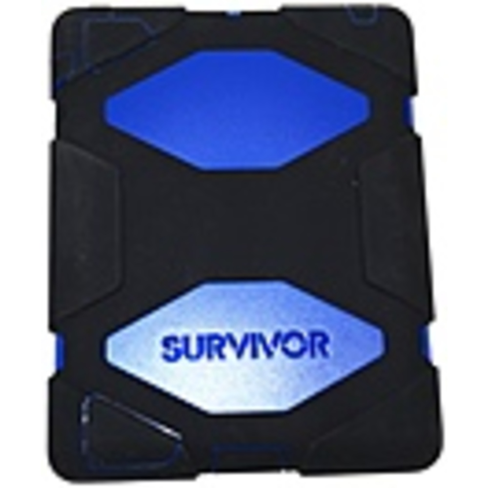Griffin Technology GB35380-3 Survivor All-Terrain Case for iPad 2/3/4 - Blue, Black
