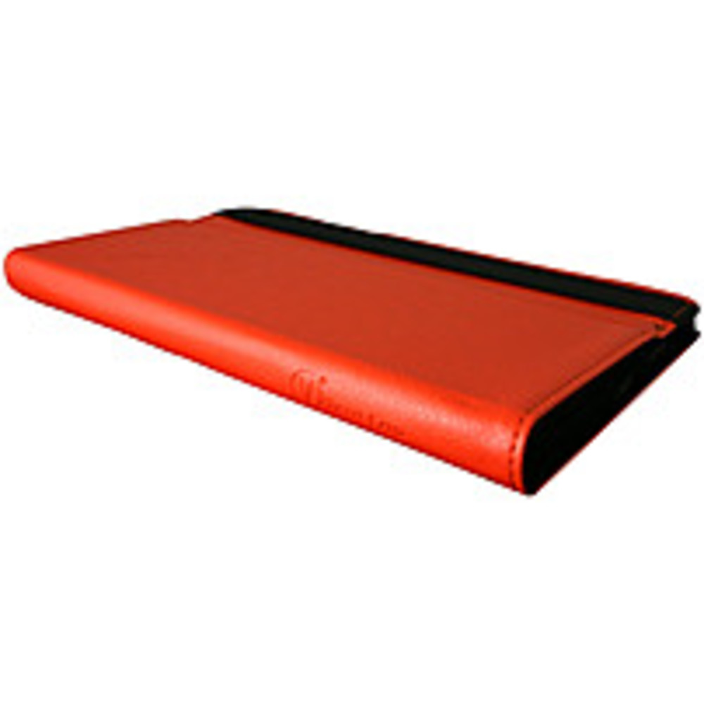 Visual Land Prestige 7 Folio Tablet Case (Red Orange)
