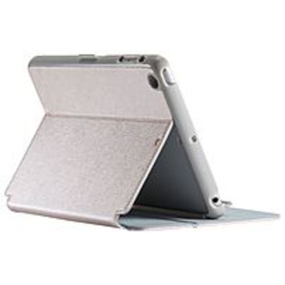 Speck SPK-A3930 8-Inch StyleFolio Luxury Edition Smart Case for iPad mini 3, iPad mini 2 and iPad mini - White Gold/Gray
