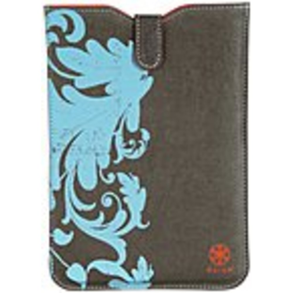 Gaiam 30798 Carrying Case (Sleeve) iPad mini - Ding Resistant Interior, Drop Resistant Interior - Hemp, Cotton Canvas, Foam Interior - Filigree - 10.5 Height x 6 Width x 0.2 Depth