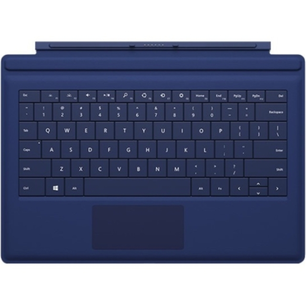 Microsoft Keyboard/Cover Case Tablet - Blue - Bump Resistant, Scratch Resistant - 8.5 Height x 11.6 Width x 0.2 Depth