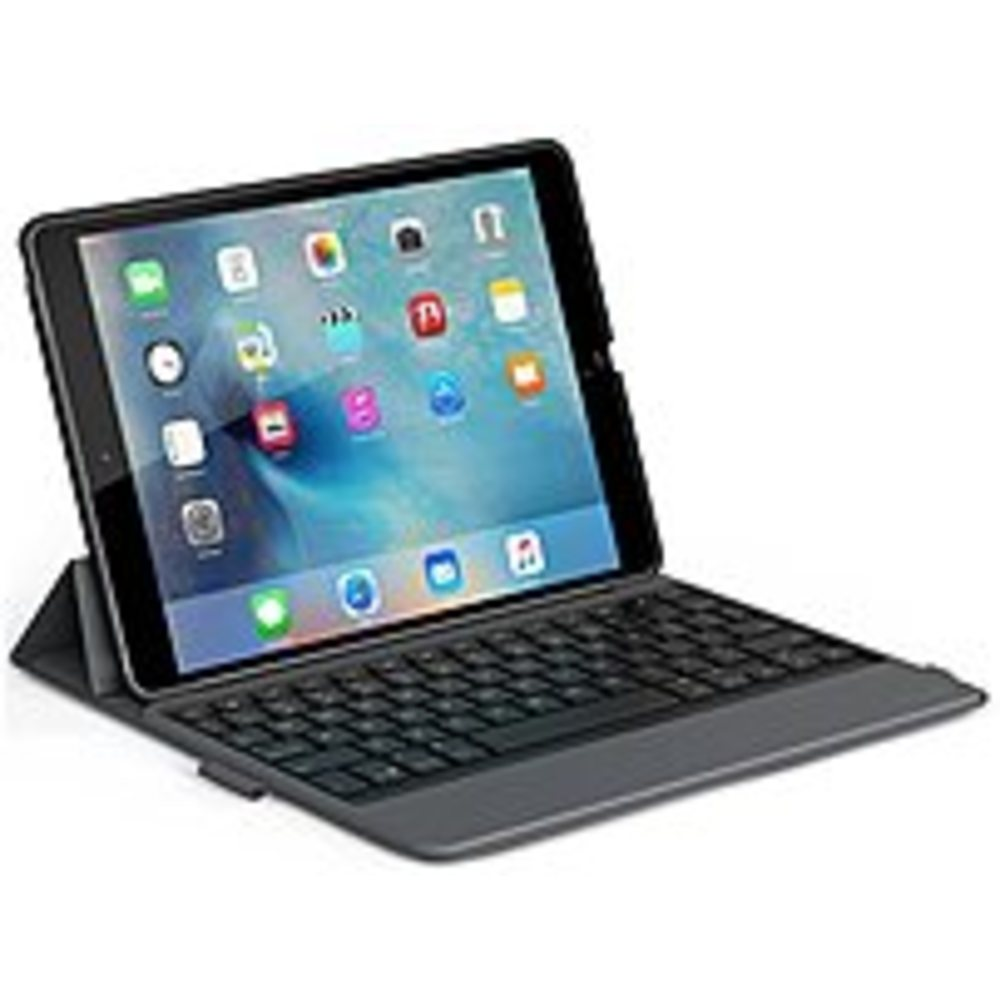 ZAGG ID8MBN-BB0 Messenger Folio Case with Keyboard for Apple iPad Pro 9.7-Inch - Black