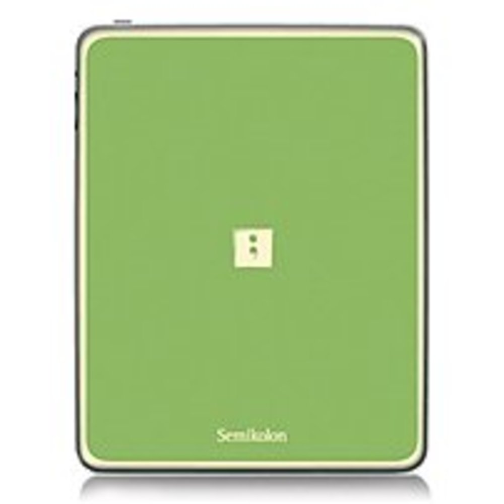 Semikolon 9920012 Removable Skin for iPad / iPad 2 - Lime Green