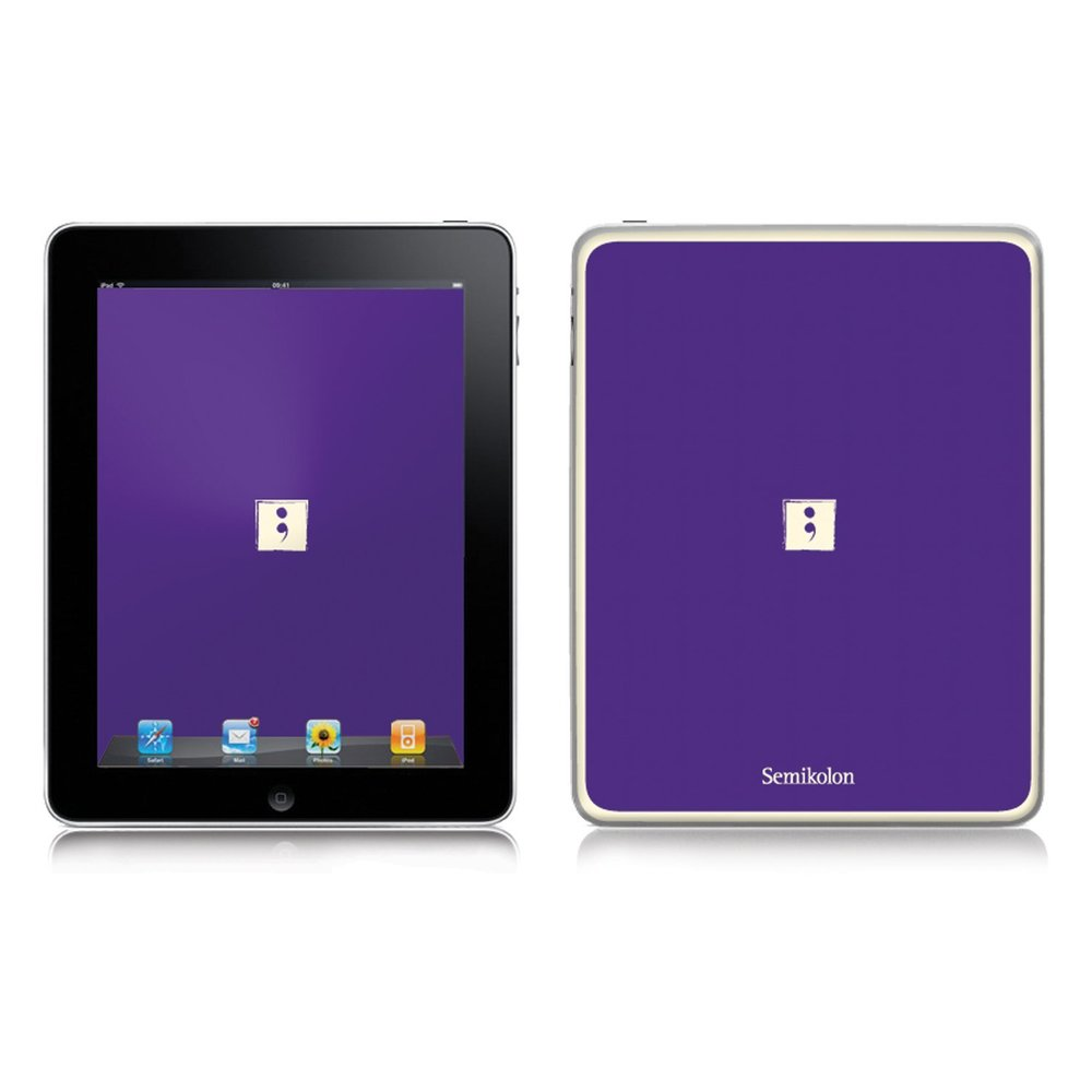 Semikolon 9920018 Removable Skin for iPad 2 - Plum