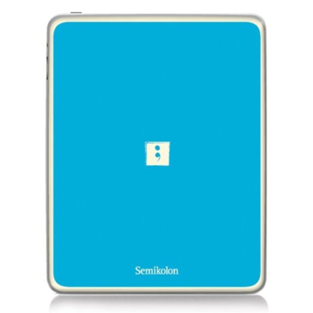 Semikolon 9920019 Removable Skin for iPad 2 - Turquoise