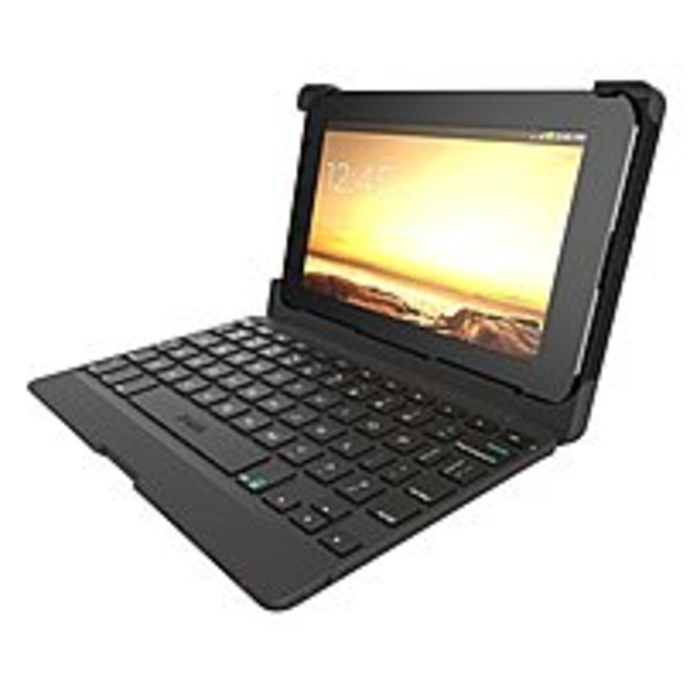 Zagg ANS7IN-BB0 7.0-inch Auto-Fit Bluetooth Keyboard Folio Case - Black