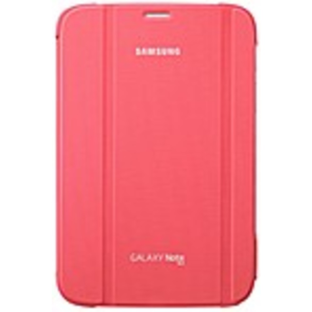 Samsung Carrying Case (Book Fold) for Samsung 8 Tablet - Pink - Synthetic Leather - 8.3 Height x 5.4 Width x 0.6 Depth