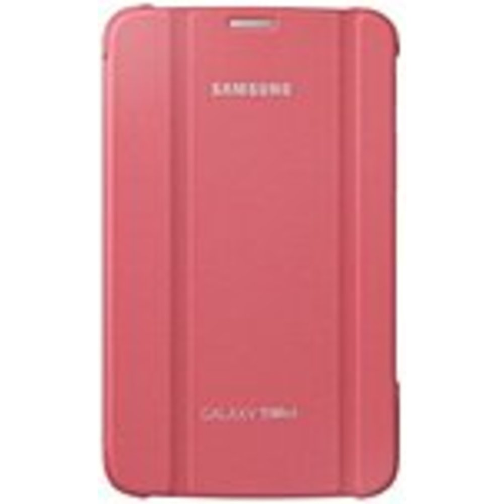 Samsung Carrying Case (Book Fold) for 7 Tablet - Berry Pink - Synthetic Leather