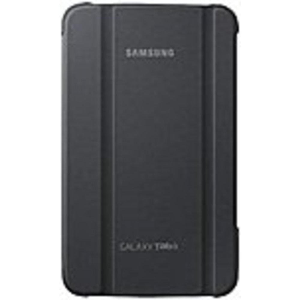 Samsung Carrying Case (Book Fold) for 7 Tablet - Gray - Synthetic Leather