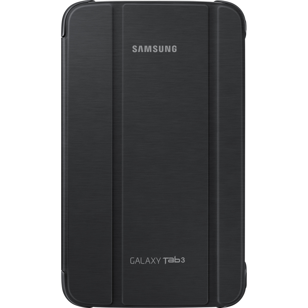 Samsung Carrying Case (Book Fold) for 8 Tablet - Black - Synthetic Leather - 8.3 Height x 5 Width x 0.4 Depth