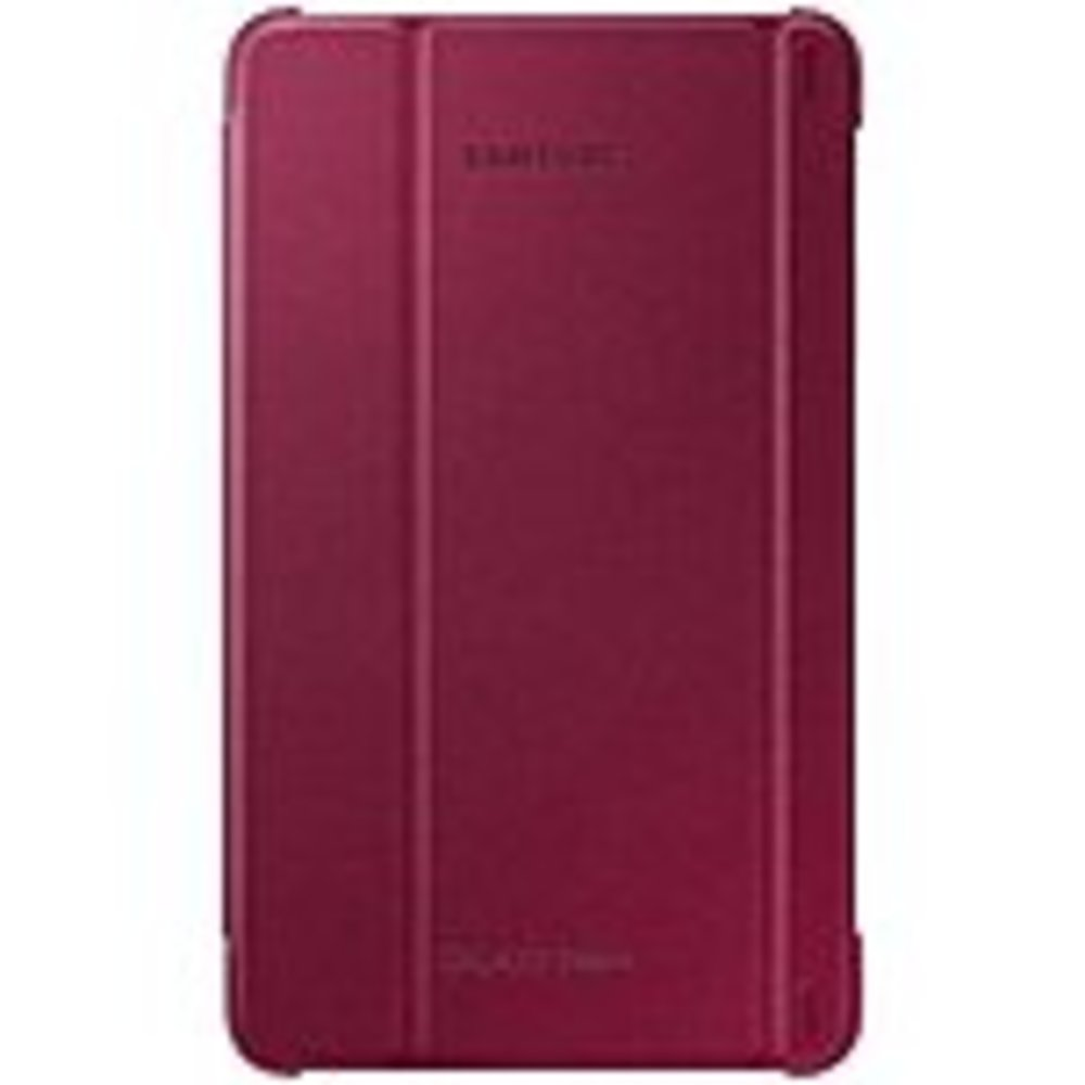 Samsung EF-BT330WPEGUJ Protective Case Book Fold for Galaxy Tab 4  Tablet - Plum Red
