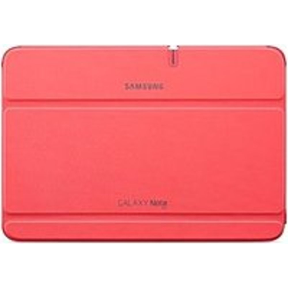 Samsung EFC-1G2NPECXAR Carrying Case (Book Fold) for 10.1 Tablet - Berry Pink - Scratch Resistant, Bump Resistant