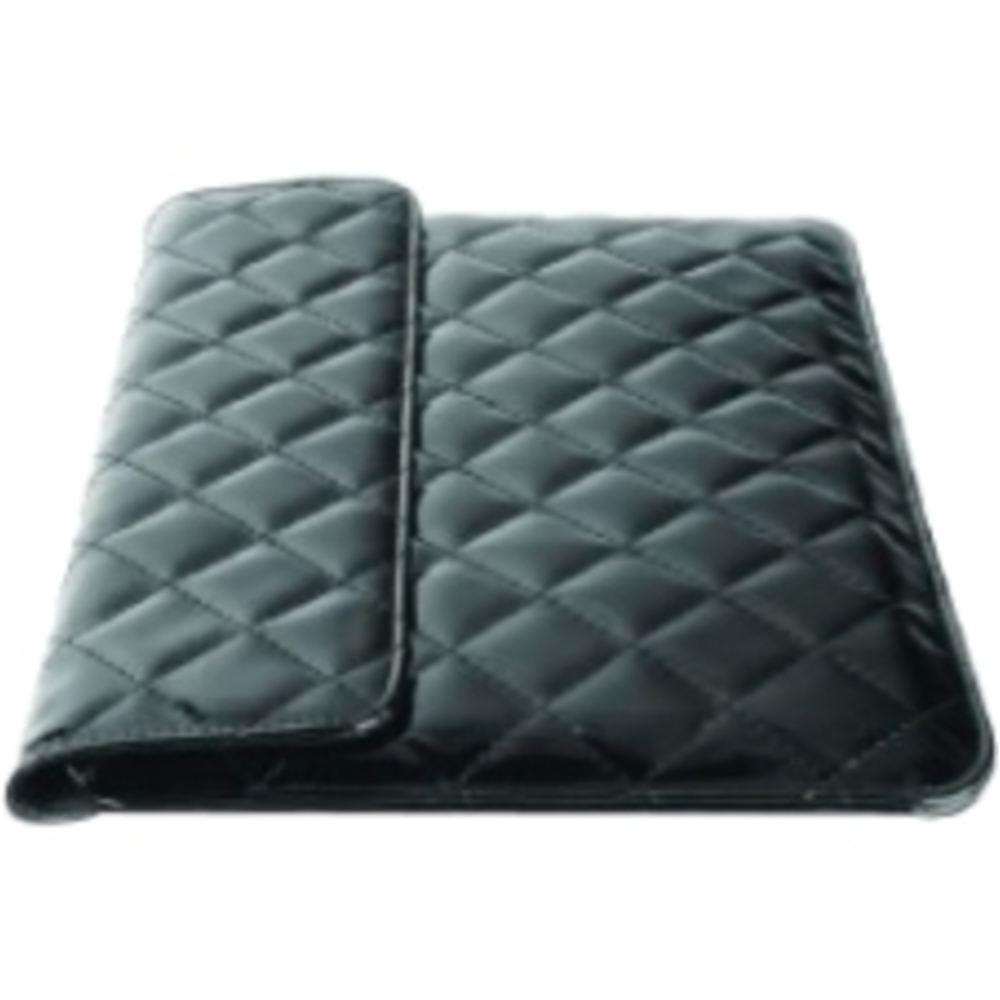 iEssentials IE-QLT-10BK Carrying Case for 10-inch APPLE Tablets - Black  - Quilted