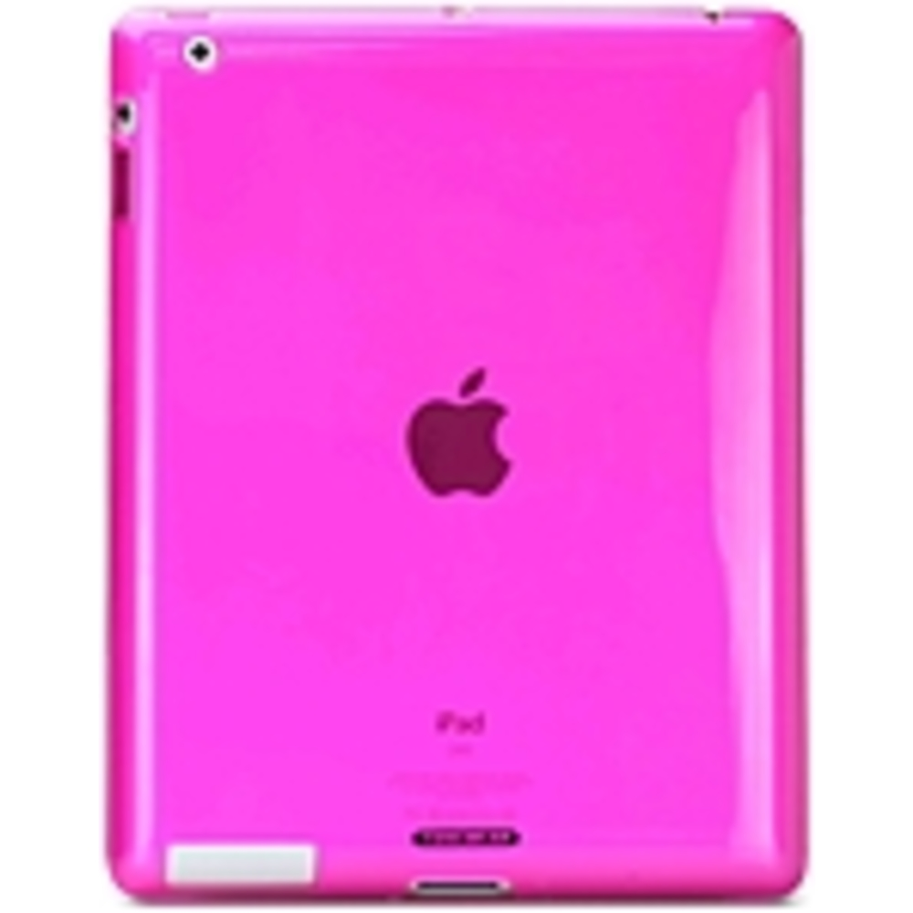 Tunewear SoftShell IPAD3-SOFT-SHELL-02 Smart Cover Fits for iPad 3 - Pink
