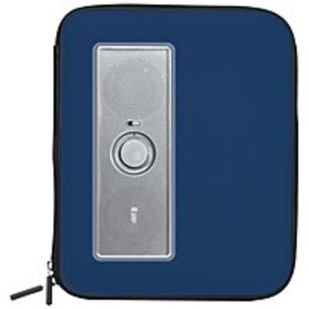 iLuv ISP230BLU Portable Stereo Speaker Case for Samsung Galaxy S, Galaxy Tab Series - Blue