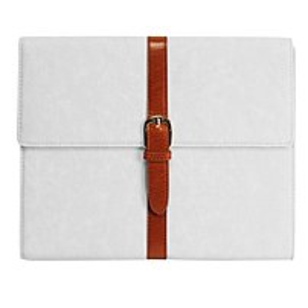 Cellet LAPPIPAD2WT3 Belt Leather Case for Apple iPad 2 - White