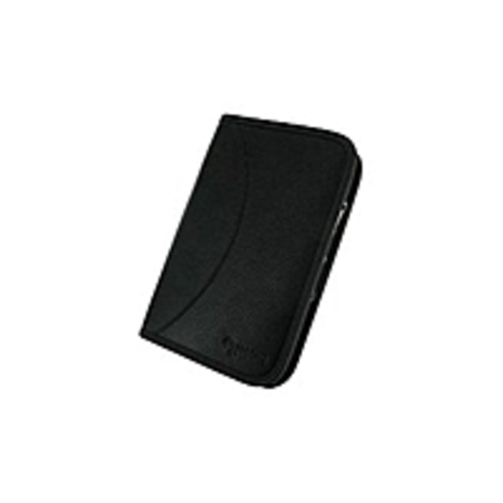 RooCase RC-GALX-EXEV2-BK  Executive Leather Folio Case For Samsung Galaxy Tab P1000  - Black - Dual-Station