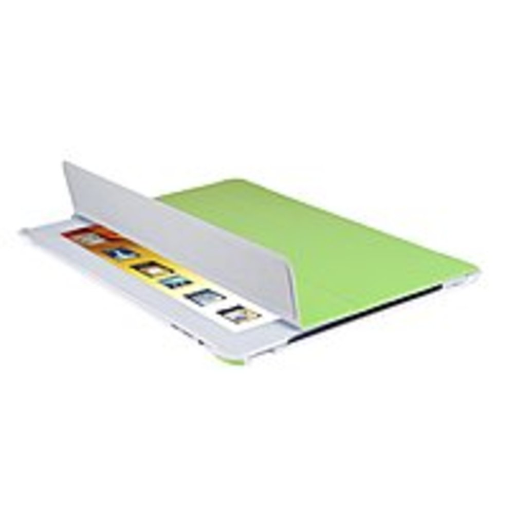 V7 Slim TA36GRN-2N Tri-Fold Folio Case with Stand for Apple iPad 2 - Green