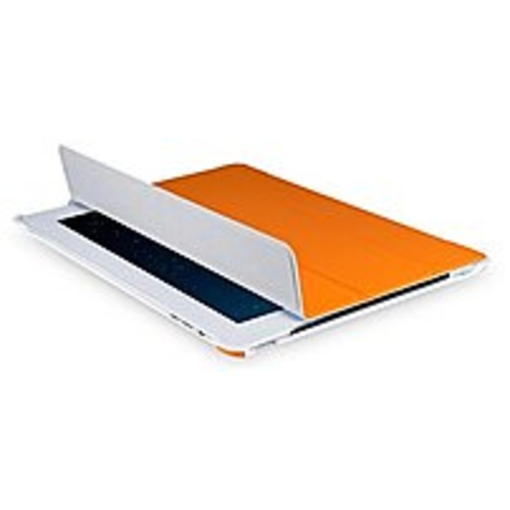 V7 Slim Folio TA37ORG-2N Case (Folio) - iPad 2, 3, 4 - Dust Resistant, Scratch Resistant, Fingerprint Resistant - Orange