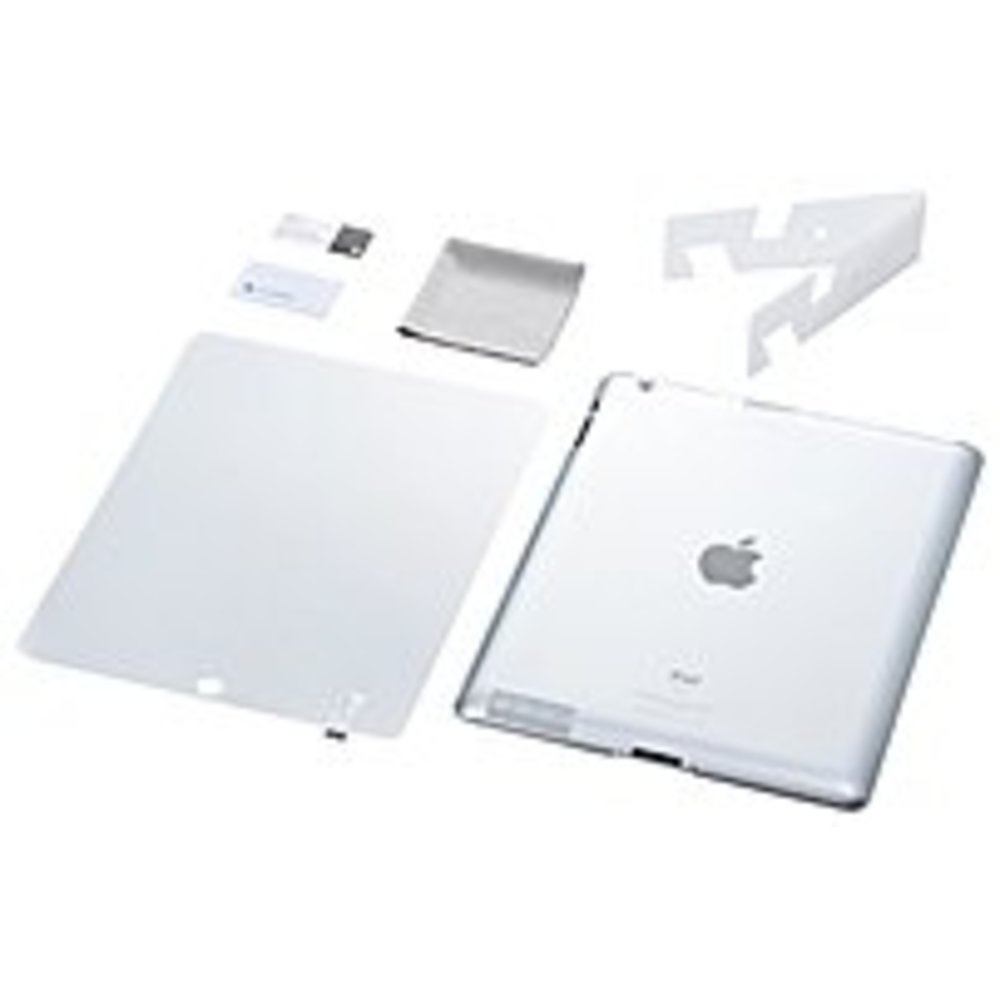 Simplism TR-CCSIPD2-CC/EN Crystal Cover Set for iPad 2 - Crystal Clear