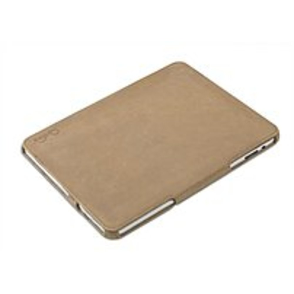 IO Crest VI-ACC62022 Book Style Leather Case with Stand for iPad - Sand