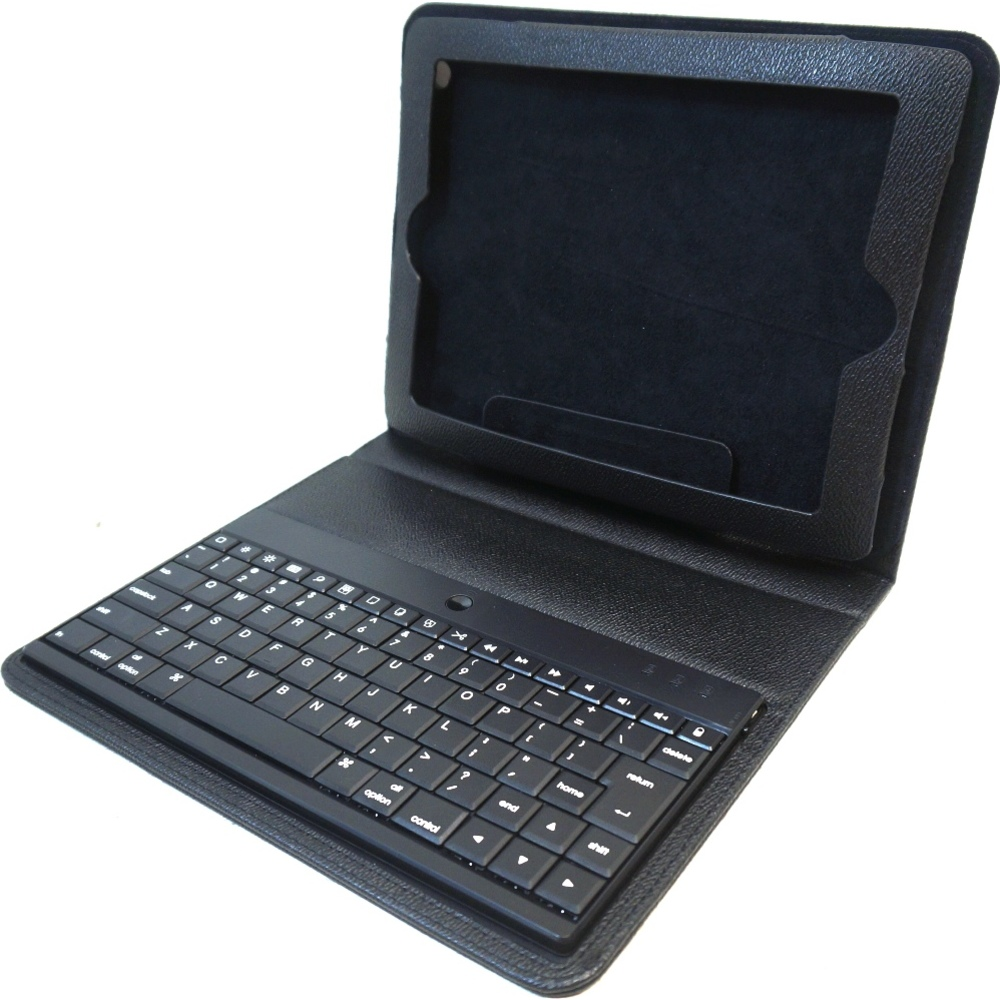 Griffin XB35423 Keyboard/Cover Case (Folio) for iPad 2, iPad 3, iPad 4 - Black - Textured - 10.3 Height x 7.8 Width x 1 Depth
